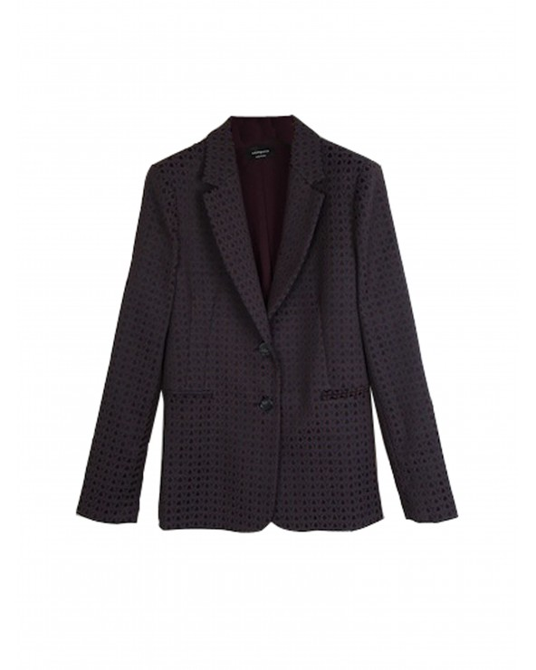 Compra Blazer granate estampada de GoodMatch Online