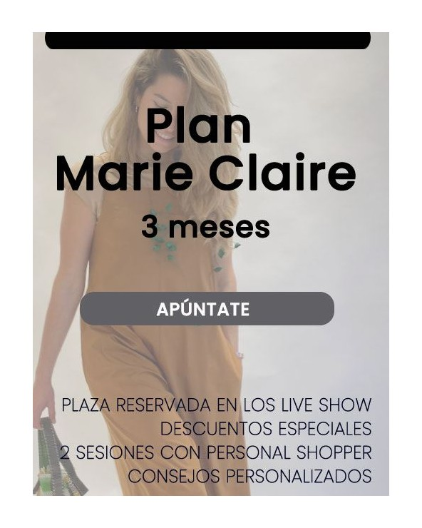 Compra Plan Marie Claire (3 meses) - 3 Pagos Online